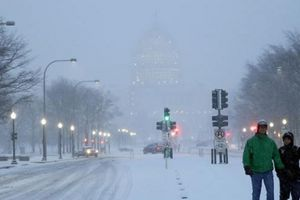 Bão tuyết hoành hành tại Đông Nam nước Mỹ