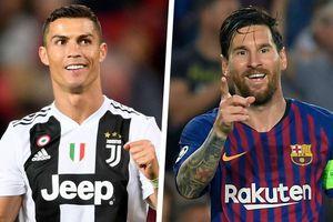 Ronaldo 'lôi kéo' Messi sang Serie A