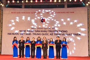 Giao lưu nghệ thuật sân khấu truyền thống Việt – Trung