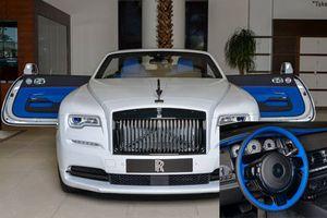 Ngắm siêu xe sang Rolls-Royce Dawn 'màu độc' ở Abu Dhabi