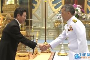 Đại sứ Việt Nam tại Thái Lan trình Quốc thư lên Nhà Vua