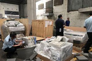 TP Hồ Chí Minh: Phát hiện, thu giữ lô thiết bị y tế 'quá đát' trị giá hàng chục tỷ đồng
