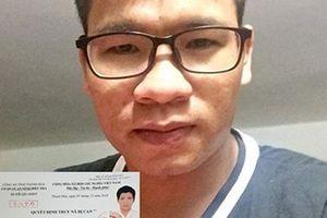 Truy nã cựu sinh viên hoạt động nhằm lật đổ chính quyền nhân dân