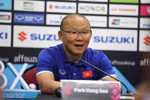 HLV Park Hang Seo: Việt Nam cần rút kinh nghiệm cho trận lượt về