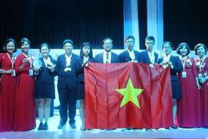 Đoàn Việt Nam giành 4 Huy chương Vàng ở Kỳ thi Khoa học trẻ quốc tế