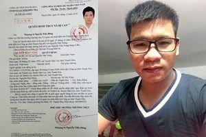 Thanh Hóa: Truy nã đối tượng hoạt động lật đổ chính quyền nhân dân