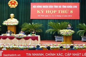 Đại biểu HĐND tỉnh Hà Tĩnh gợi mở nhiều giải pháp phát triển KT-XH 2019