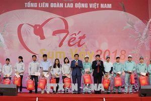 Hà Nội: Nhiều hoạt động chăm lo cho người lao động nhân dịp Tết Nguyên đán 2019
