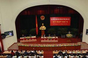 Ba 'tư lệnh ngành' ở Hà Tĩnh nhận được nhiều phiếu tín nhiệm thấp là ai?