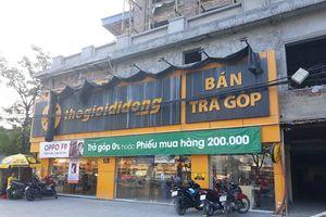 Hà Nội: Siêu thị rầm rộ đón khách dưới công trình đang xây dựng sai phép