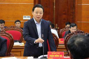Bộ trưởng Trần Hồng Hà: Hòa Bình cần sớm lập quy hoạch, kế hoạch di dời dân ra khỏi các vùng có nguy cơ sạt lở