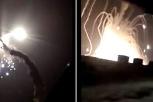 Tên lửa S-300 Nga bắn 'xịt', bốc cháy như pháo hoa trên không