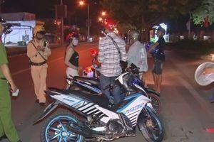 Công an Vĩnh Long xử lý 35 trường hợp gây mất trật tự an toàn giao thông