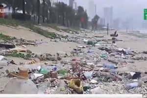 Đà Nẵng sớm dọn rác thải sau đợt mưa kỷ lục
