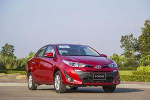 Toyota ưu đãi 'khủng' cho Vios 2018 trong tháng 12