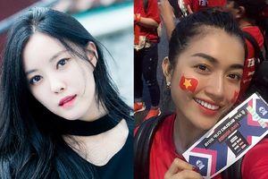 Ca sĩ nổi tiếng Hàn Quốc cổ vũ cho đội tuyển Việt Nam, Lệ Hằng tiếc nuối trước kết quả hòa