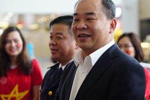 Chủ tịch VFF Lê Khánh Hải: 'Tôi tin ở lượt về HLV Park sẽ hóa giải được đối thủ'