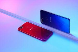 Oppo F9 là điện thoại có xu hướng tìm kiếm nổi bật nhất trên Google năm 2018