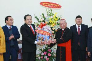 BẢN TIN MẶT TRẬN: Chủ tịch Trần Thanh Mẫn chúc mừng Lễ Giáng sinh năm 2018