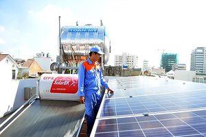 Trường học được lắp đặt miễn phí điện mặt trời