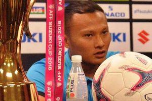 Trọng Hoàng nói gì với báo chí khi tái đấu Malaysia?