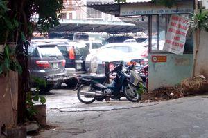 Xử lý bãi xe không phép tại quận Ba Đình: Nơi quyết liệt, chỗ thờ ơ