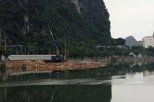 Doanh nghiệp lấn hồ giữa Hạ Long: Sẽ dừng để điều chỉnh lại quy hoạch