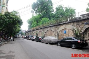 Vòm đá đường sắt hàng trăm năm tuổi tại Hà Nội sắp được đục thông