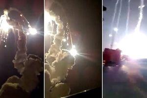 Khai hỏa S-350 Vityaz: Tên lửa nổ sau khi rời bệ phóng...
