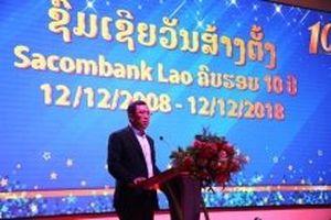 Sacombank khẳng định vị thế ngân hàng Việt tại Lào