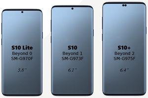 Galaxy S10 Plus lộ thông số, giá cao vượt xa iPhone?