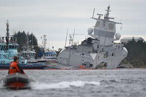 Trục vớt khu trục hạm Na Uy: Tên lửa vẫn còn trên bệ phóng