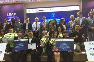 Chung kết cuộc thi Ý tưởng khởi nghiệp Lead The Change Competition 2018