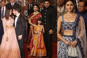 Dàn hoa hậu, người đẹp Ấn Độ dự đám cưới ái nữ tỷ phú giàu nhất châu Á