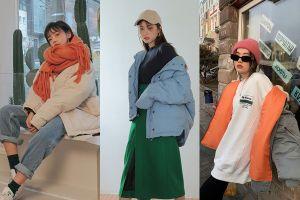 Biến hóa đa phong cách với chiếc áo phao ngày Đông