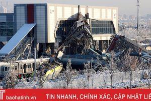 Tai nạn tàu cao tốc ở Thổ Nhĩ Kỳ khiến 47 người thương vong