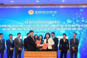 Tập đoàn Trung Nguyên Legend cùng Bộ GD-ĐT ký kết thỏa thuận hỗ trợ khởi nghiệp quốc gia