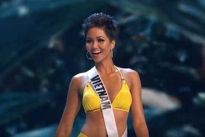 Bán kết Hoa hậu hoàn vũ: H'hen Niê nổi bật, cuốn hút, tự tin hô vang 'Việt Nam'