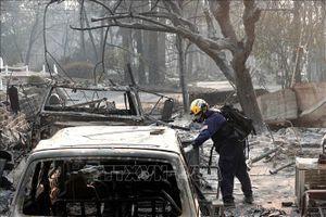 Các công ty bảo hiểm phải chi ít nhất 9 tỷ USD sau cháy rừng tại California