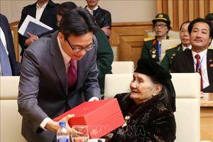Chăm sóc, hỗ trợ tốt hơn cho các Mẹ Việt Nam Anh hùng, cựu chiến binh