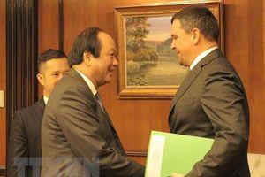 Nga hỗ trợ Việt Nam xây dựng Chính phủ điện tử