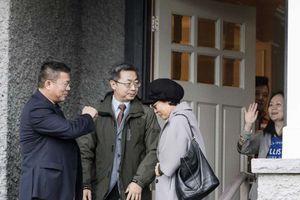 Hình ảnh 'công chúa Huawei' tại tư dinh ở Canada