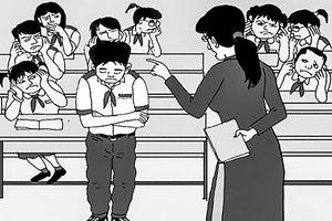 Những cái tát phản giáo dục