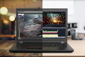 Lenovo nâng tầm phong cách và sức mạnh cho máy trạm di động ThinkPad P1 và P72 mới