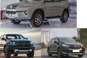 Bộ 3 mẫu xe nhập khẩu khuynh đảo thị trường ô tô Việt