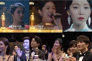 SBS Drama Music Awards 2018: Phản ứng của Lee Jong Suk, Ji Sung khi nghe Jang Nara, Shin Hye Sun - Lee Min Jung hát