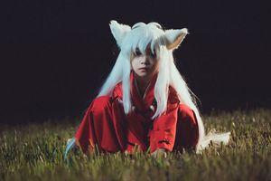 Nhóc tỳ Hà Thành- Cao Hữu Nhật cosplay InuYasha siêu đáng yêu
