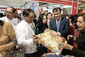 Hội chợ hàng Việt Nam tại Myanmar: 'Cầu nối' cho hàng hóa Việt vào Myanmar