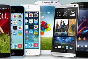 Năm 2018, số lượng smartphone bán ra giảm 50 triệu chiếc