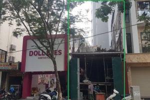 Phường Nguyễn Du: Cần thiết phải tạm dừng thi công công trình 121 Bà Triệu